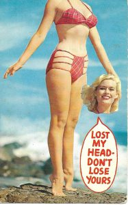 Vintage Mansfield Post Card