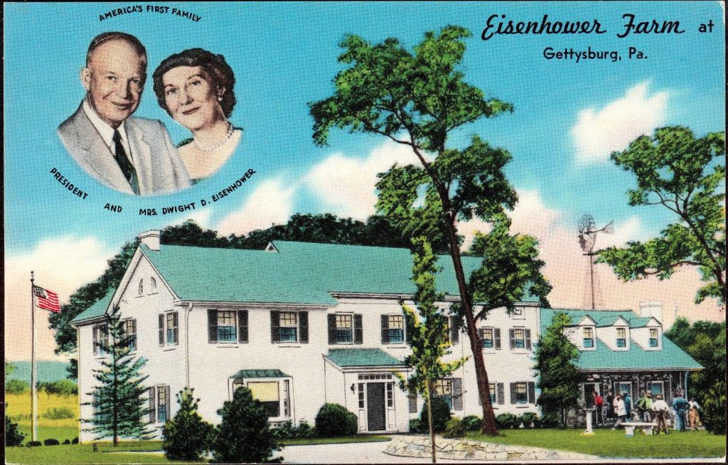 Eisenhower Farm Postcard