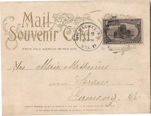 Vintage Postcard Folder