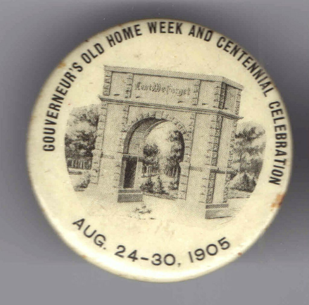Old Home Week Souvenir Button