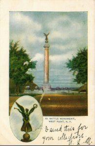 West Point Battle monument - feature