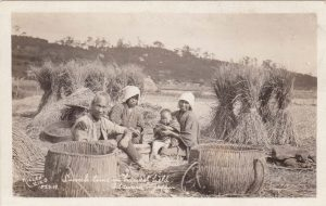 """""""Lunch Time in Harvest Field, Odawara, Japan."""" Obviously, his desire to capture the culture of the people extended to his travels to all parts of the world. 1919"""